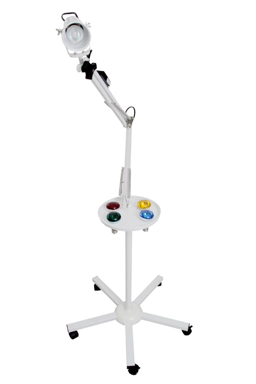 Luminária com Foco de Luz colorida - Cromoterapia - Estek