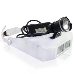 Lupa de Pala com Fotoforo Power LED Autovolt - Estek