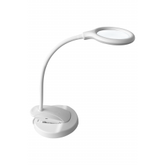Lupa LED Wireless Apoio de mesa